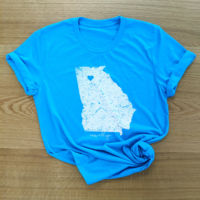 Roswell, GA Heather Aqua T-Shirt Thumbnail